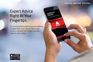 New Selector App from Axalta is Designed for Aftermarket Repair of Transportation Vehicles