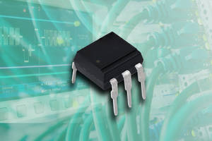 New VOH1016A Series Optocouplers Feature Open Collector Transistor Output