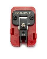 Platinum Tools Offers EZ-RJ12/11 Dies That Can be Interchangeable and Reversible