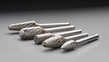 Saint-Gobain's New Line of Norton Carbide Burrs Perform Well at Higher Tempratures and Lasts Longer than HSS Tools
