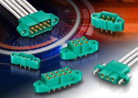 Harwin Introduces M300 Cable Assemblies with Patented 4-Finger Contact Design