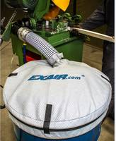 Exair Introduces New Non-Woven Drum Covers Prevent Contamination of Material in the Drum