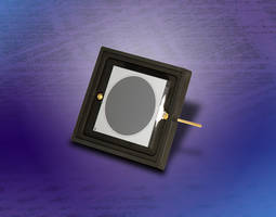 Latest AXUV63HS1 Circular Photodiode Features Minimum Reverse Breakdown Voltage of 160 V