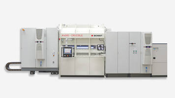 New BOBST K4000 CRUCIBLE Metallizer is Equipped with a 6-Drive System