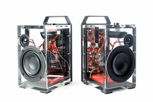 New Aquarius Portable Wireless Speaker System Offers a Transmission Range of 15-50 m