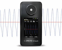 New GL Spectis 1.0 Touch Flicker Spectrometer Helps in Avoiding Flicker Issues