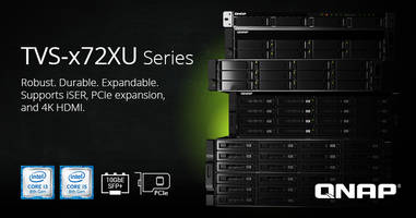 QNAP Releases TVS-x72XU NAS Series for High Speed Storage Applications