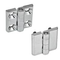 JW Winco Offers Chrome Platted GN 237 Hinges That are Corrosion Resistant