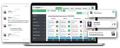 FreeAgent Presents Aspen CRM Software with Multi-Platform Support