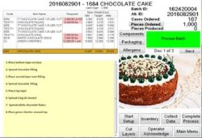 New PRIMS Dessert Manufacturing Software is Offered with Enhanced WIP Handling and Instant Visibility