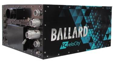 Ballard Receives Order from Porterbrook for Fuel Cell Module to Power U.K. HydroFLEX Train