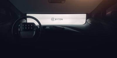 BYTON Gears up for the 2019 Production Launch of M-Byte at CES Las Vegas