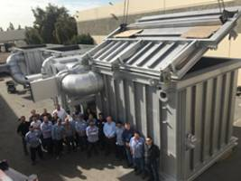 Baker Furnace Ships Custom Waste Incineration System to Pollution Control Company