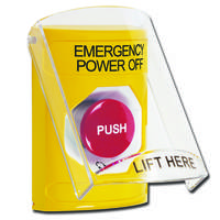 New Emergency Power Off Button is Listed to UL and cUL Standards