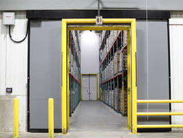 New Barrier Glider Cold Storage Door Comes with Patented Thermal-Flex Sealing System