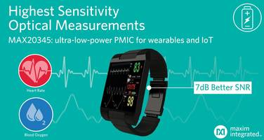 Maxim Presents MAX20345 Power-Management IC for Wearable