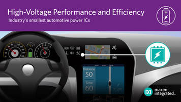 Latest Power-Management ICs from Maxim are Designed for High-Voltage Power Applications
