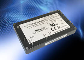 TDK Launches PFH500F-28 AC-DC Power Modules for Commercial-Off-The-Shelf Applications