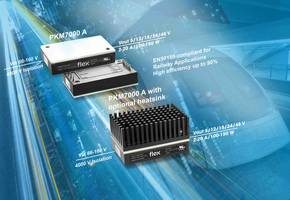 New DC-DC Power Modules from Flex Power are Offered in Sealed and Encapsulated Packages