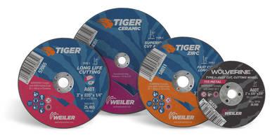 Weiler Offers Small Diameter Cutting Wheels for High-Speed Die Grinders