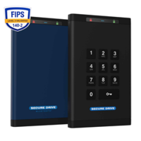 SECUREDATA'S Hardware Encrypted External Data Storage Drives Awarded FIPS 140-2 Level 3 Certification