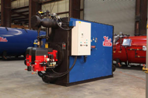 Hurst Boiler Begins Manufacturing Engineered Packaged Watertube Boilers