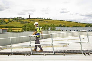 Kee Safety Announces Kee Walk with Guardrail OSHA-Compliant Rooftop Walkway System