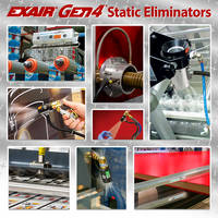 Exair Introduces Gen4 Static Eliminators That Offer Laminar Flow Airstreams