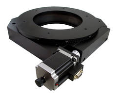 OES Presents AY110-300 Motorized Rotary Stage with a Backlash of 0.0005 Degrees