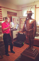 Exact Metrology Preserves History with Scanned Replica of Statue