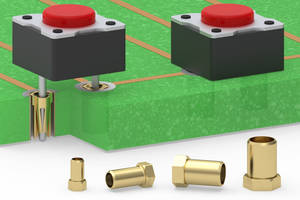 Mill-Max Introduces a Line of Solderless Press-Fit Receptacles with Hexagon Shaped Flange