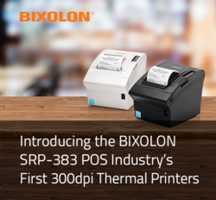BIXOLON Presents SRP-383 Thermal Receipt Printer with Auto Receipt Resize Technology