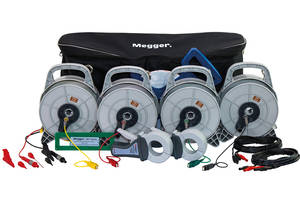 Megger Offers Light-weight Earth Test Kit which is Easy-to-wind and Unwind Reels with Leads