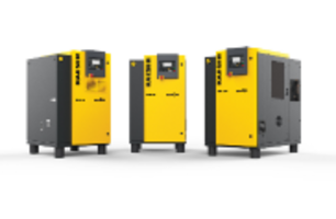 Kaeser Offers SM Series Rotary Screw Compressors with Dual-Flow Fans