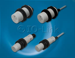 New Capacitive Proximity Sensors Offer Programmable Sensing Distance and Hysteresis