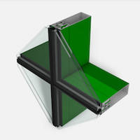 Latest 400 4-Side SSG Cassette Series Glazing System Features Roll-Over Dead Load Sill Anchors