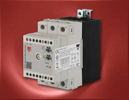 New RGTS Series Motor Soft-Starters are Designed to Control Induction Motors Up to 25A
