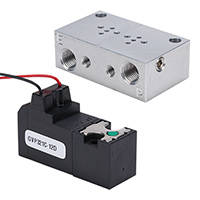 AutomationDirect Presents NITRA GVP Series Pneumatic Miniature Solenoid Valves