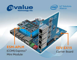 Avalue Releases ESM-APLM and EEV-EX15 Computer-On-Modules Ideal for Small Handheld Devices