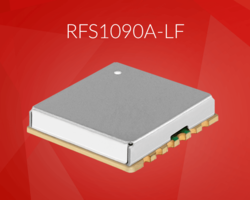 New RoHS Compliant RFS1090A-LF is a Fully Integrated Synthesizer Operating at 1090 MHz