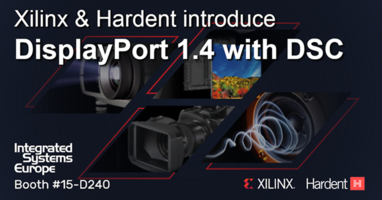 New Displayport 1.4 IP Subsystem Solution Meets the Requirements of Displayport Pro A/V Applications Transporting Video up to 8K