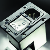 SCHURTER's New DG12 Series Power Entry Integrates an IEC Inlet, Circuit Breaker and Mains Filter