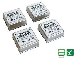 "New TDK-Lambda CCG15-30D Converters Offer a Dual Output Solution in a 1"" X 1"" Industry Standard Package"