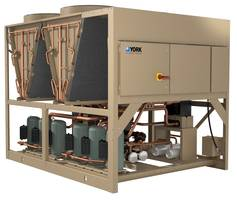 Johnson Controls Introduces Line of YORK YLAA Air-cooled Scroll Chillers Offering a Smaller Footprint with Increased Efficiency