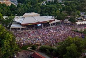 En-Fold® Stadium-Grade Retractable Awning System Quickly Transforms Merriweather Post Pavilion