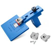 "Rockler Launches Corner Key Doweling Jig with Interchangeable 1/8"", 1/4"" and 3/8"" Diameter Drilling Guides"