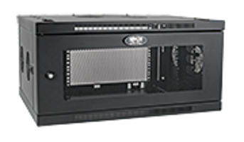 Tripp Lite Launches New 6U, 9U Wall-Mount Racks with Cable Managers