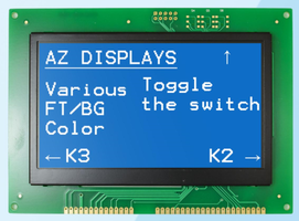 New Graphic Module Integrated with ZETTLER's Patented Driver Logic Technology