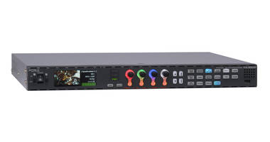 FOR-A will Introduce SOM-100 Media Orchestration Platform, FA-9600 Signal Processor and H.265/HEVC Video Encoders at CABSAT
