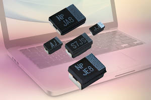 Vishay's New Z Case Size T55 Series Capacitors Feature Capacitance Range from 3.3 to 680 microfarad